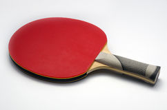 乒乓球桨宏指令 免版税库存照片