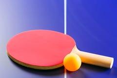 乒乓球球员 图库摄影