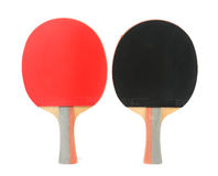 乒乓球球拍 免版税库存照片