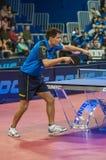 乒乓球竞争 图库摄影