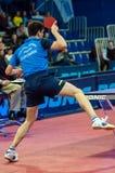 乒乓球竞争 免版税库存照片