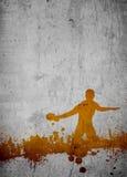 乒乓球背景 免版税库存照片