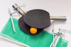 乒乓球齿轮 库存图片