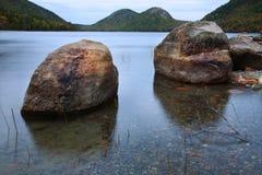乔丹池塘 图库摄影