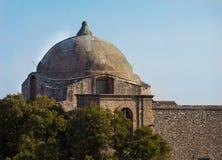 乔凡尼有历史的教会在Erice,西西里岛 库存照片