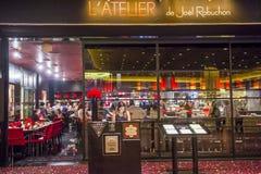 乔尔Robuchon餐馆 库存图片