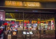 乔尔Robuchon餐馆 图库摄影