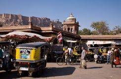 乔德普尔城市场 图库摄影