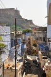 乔德普尔城,拉贾斯坦,印度 老城市的视图 图库摄影