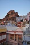 乔德普尔城,拉贾斯坦,印度 老结构城市 库存照片