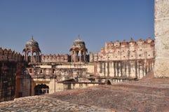 乔德普尔城,拉贾斯坦,印度 Mehragarth堡垒 库存照片