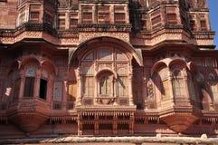 乔德普尔城,拉贾斯坦,印度 Mehragarth堡垒 免版税图库摄影
