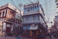 乔德普尔城,蓝色城市在拉贾斯坦,印度 免版税库存图片