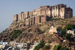 乔德普尔城-印度 免版税图库摄影