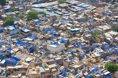 乔德普尔城-蓝色城市 拉贾斯坦,印度 免版税库存照片