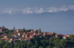 乔治亚西格纳吉古城 库存图片