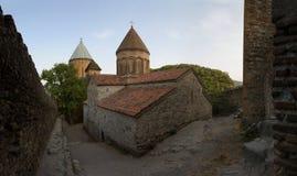 乔治亚, Ananuri古老堡垒, 16世纪 库存图片