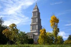 乔治共济会的纪念国家华盛顿 免版税库存图片