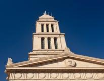 乔治共济会的纪念国家华盛顿 免版税库存照片
