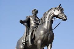 乔治四世国王雕象 免版税库存照片