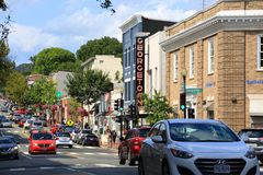 乔治城,华盛顿特区 免版税图库摄影