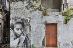 乔治市,槟榔岛,大约2015年3月26日的马来西亚:公开stree 库存图片