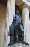 乔治雕象华盛顿 免版税库存图片