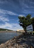 乔轮车水坝Guntersville阿拉巴马 免版税库存照片