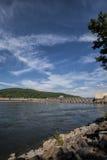 乔轮车水坝Guntersville阿拉巴马4 免版税库存照片