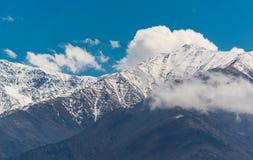 乔治亚山风景 免版税图库摄影
