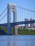 乔治・华盛顿桥梁 库存照片