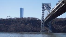 乔治・华盛顿桥梁62 免版税库存照片