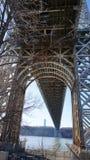乔治・华盛顿桥梁108 免版税库存照片