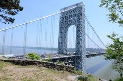 乔治・华盛顿桥梁 免版税库存照片
