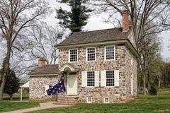 乔治・华盛顿福奇谷的` s总部 免版税库存图片