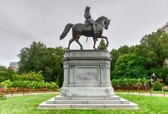乔治・华盛顿纪念碑-波士顿 库存图片