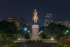 乔治・华盛顿纪念碑-波士顿 免版税库存照片