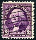 乔治・华盛顿美国邮票 图库摄影