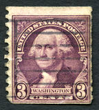 乔治・华盛顿美国邮票 免版税图库摄影