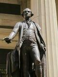 乔治・华盛顿雕象在纽约 免版税库存图片