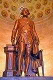 乔治・华盛顿雕象 免版税库存照片