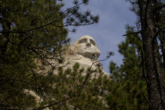 乔治・华盛顿Mt Rushmore 库存照片