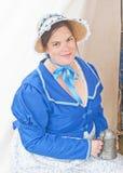 乔治堡的官员的妻子 图库摄影