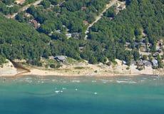 乔治娜海滩天线 免版税图库摄影