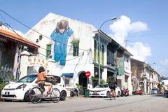乔治市,马来西亚- 2015年6月05日, : 免版税图库摄影