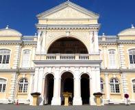 乔治市-香港大会堂,马来西亚,殖民地建筑学 免版税库存图片