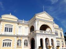 乔治市-香港大会堂,马来西亚,殖民地建筑学 库存照片