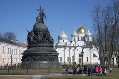 乔治杀害纪念碑蛇st斯德哥尔摩战胜的瑞典 图库摄影