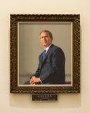 乔治・沃克・布什正式画象 免版税库存图片