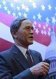 乔治・沃克・布什总统的蜡象 免版税库存照片